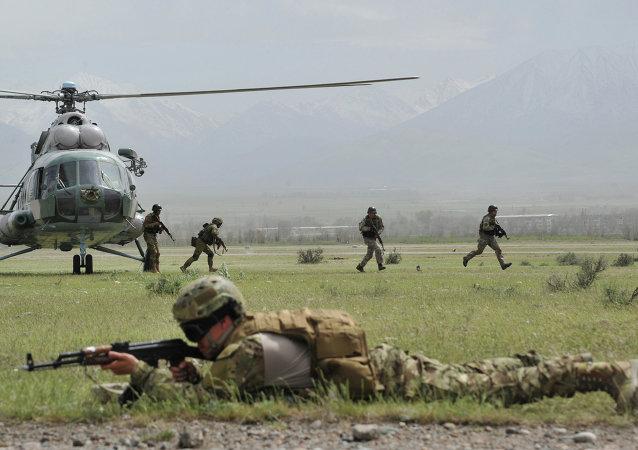 印巴軍隊首次參加上合組織反恐演習