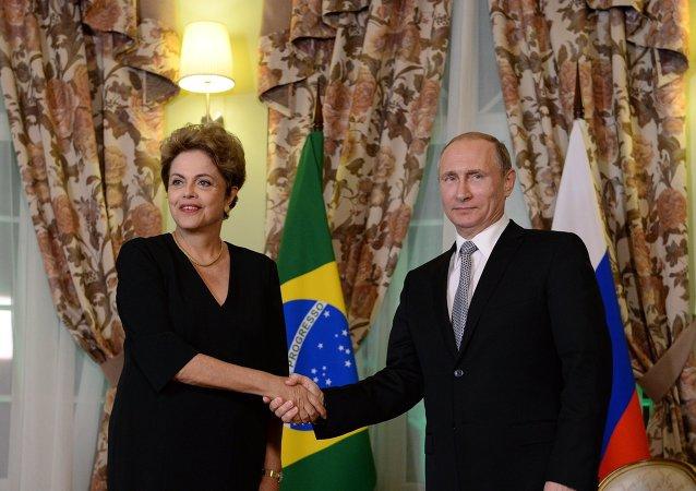 巴西總統:俄羅斯可在制裁問題上期望巴西的幫助