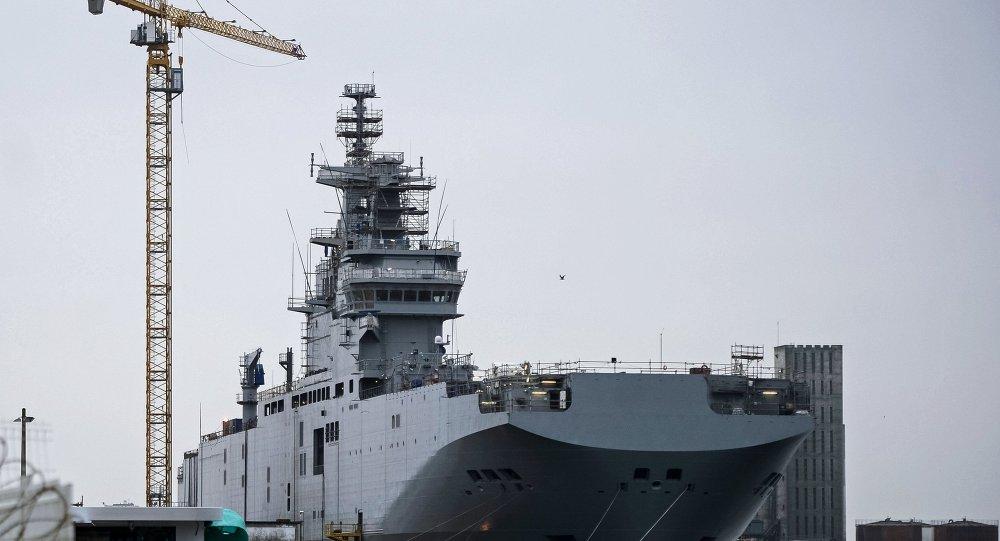 俄法就「西北風」級航母通信系統退還問題磋商