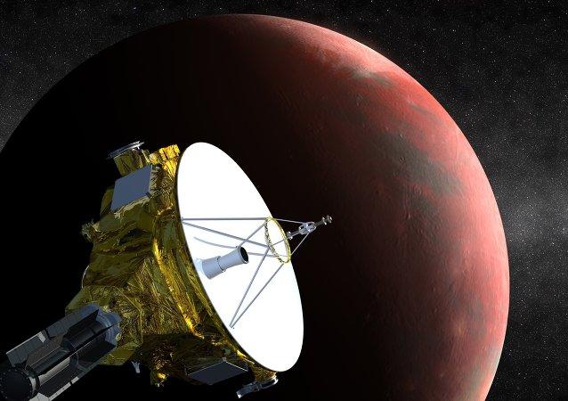 美國新視野號探測器已接近冥王星