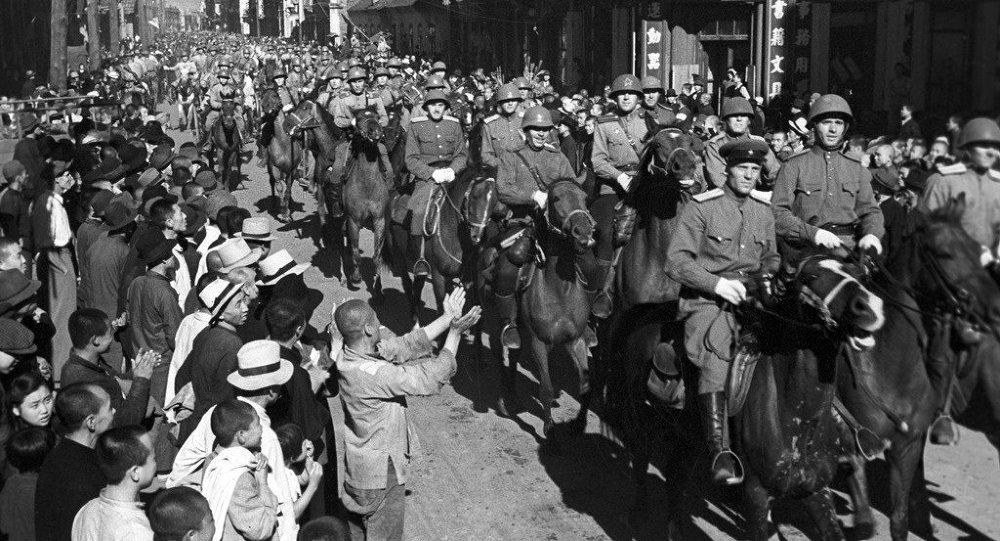 哈爾濱,1945年8月