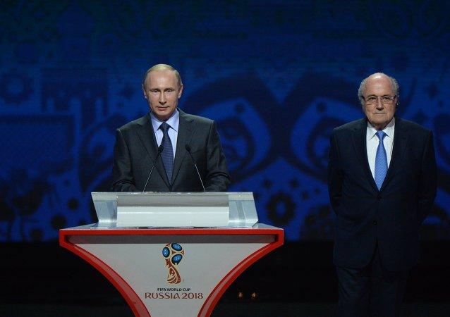 普京:籌備2018年世界杯足球賽的所有計劃都將完成