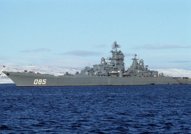 「納希莫夫海軍上將」重型核動力巡洋艦
