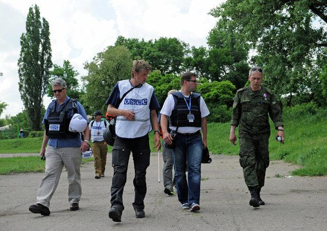 俄安全局:烏特工部門非法利用歐安組織使團在盧甘斯克人民共和國搞破壞