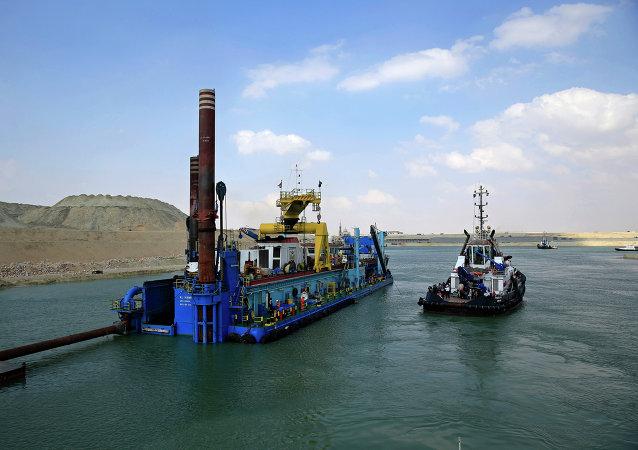 蘇伊士運河開始實施加深河道計劃