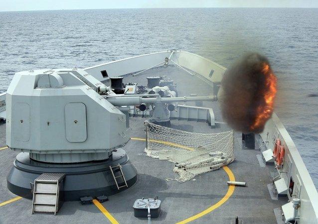 渤海海峽黃海北部相關海域9月4日執行軍事任務