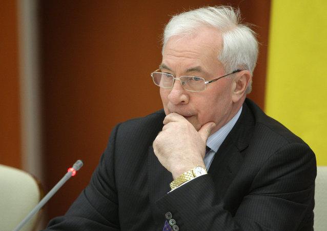 烏克蘭前總理不排除建立流亡政府的可能性