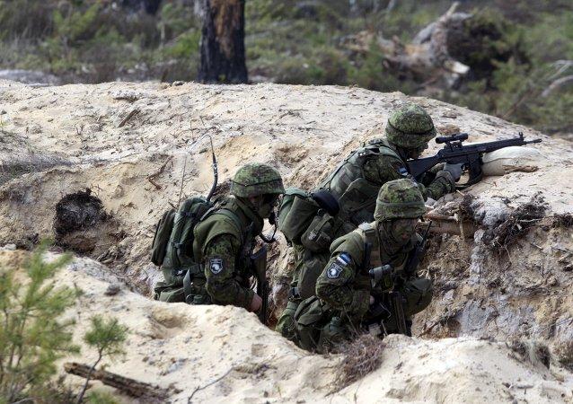 愛沙尼亞軍人