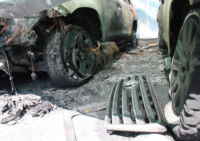 歐安組織烏克蘭特別委員會:觀察員不會在汽車燃燒事件後撤出