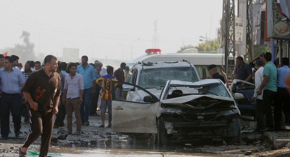 伊拉克5名武裝分子在安裝汽車炸彈時被炸死