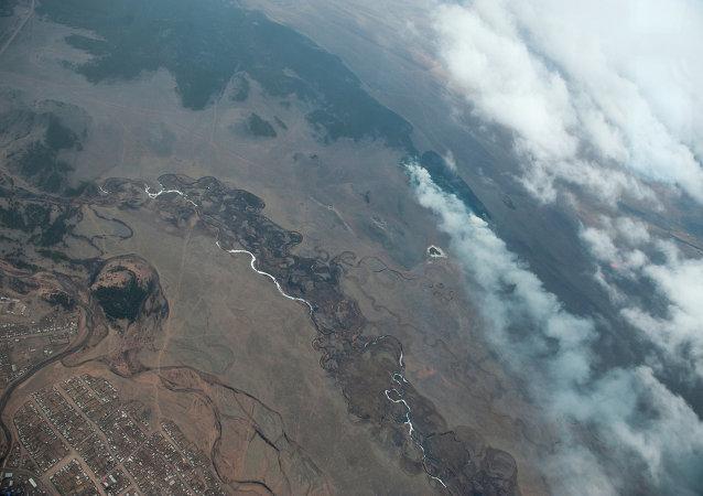 數日來布里亞特共和國的10處森林大火被撲滅