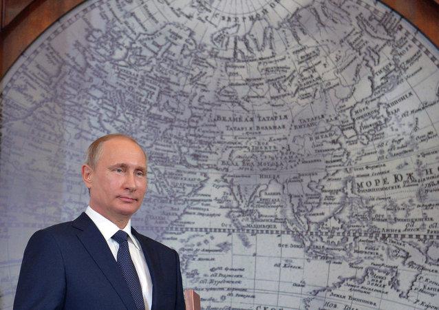 普京贊賞俄地理學會與中國同行在國際項目上的合作