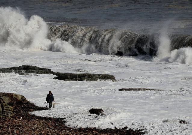 俄濱海邊疆區颱風