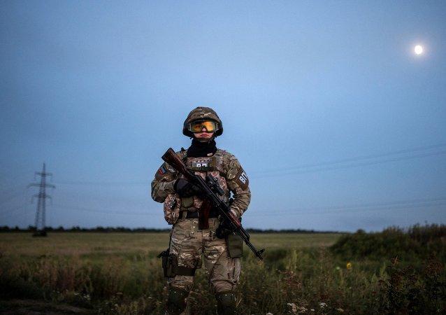 烏軍稱頓巴斯一日未出現炮擊
