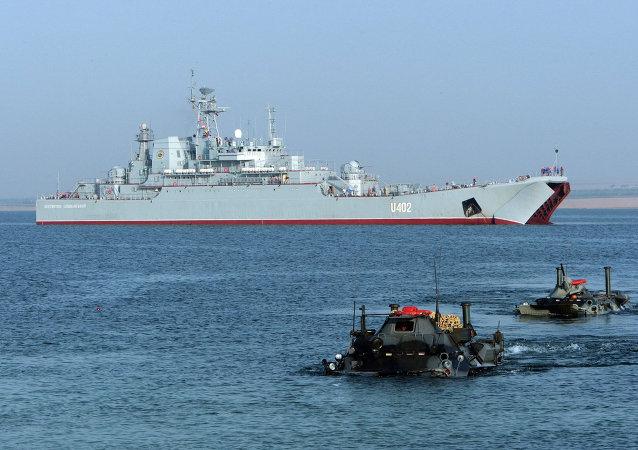 美烏在黑海舉行「海風」軍演