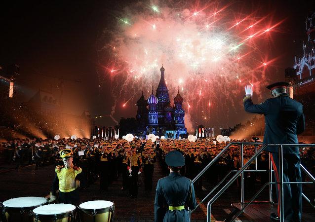 俄國防出口公司:「斯巴斯卡亞塔樓2015」國際軍樂節規模為歷史之最