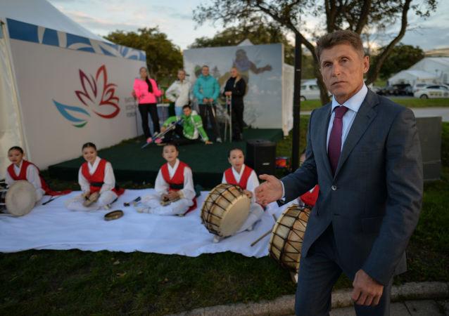 普京任命薩哈林州州長科熱米亞科擔任濱海邊疆區代理行政長官