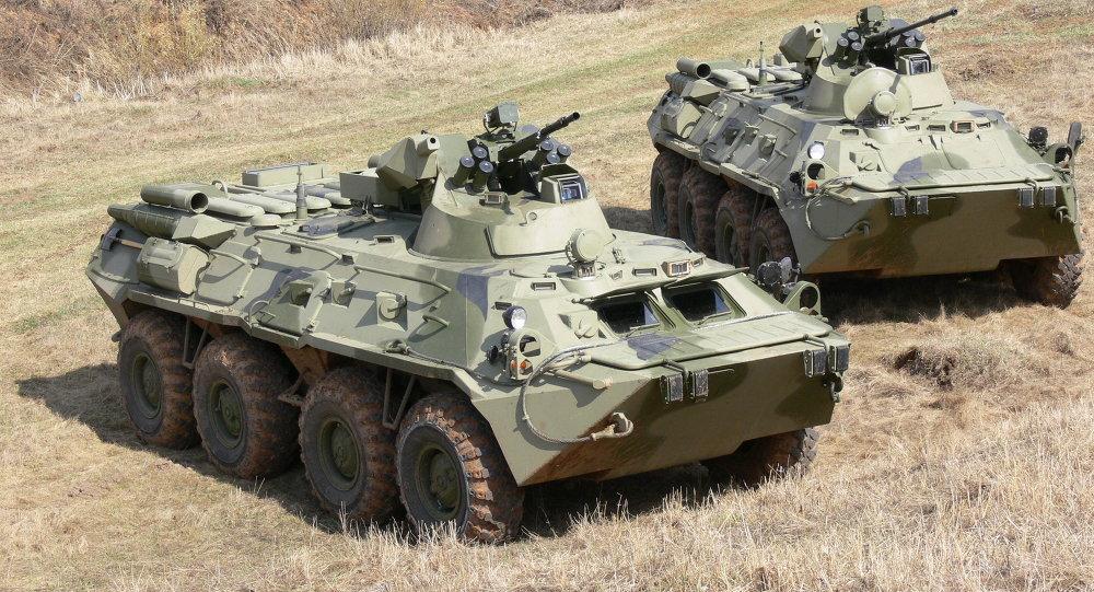 BTR-82和BTR-82A裝甲運輸車