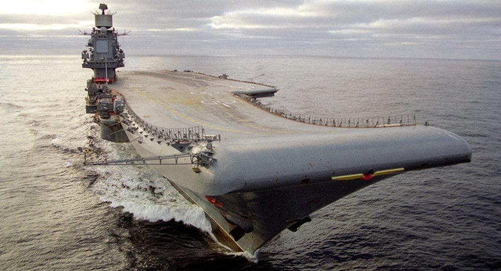 」庫茲涅佐夫海軍上將號「航空母艦