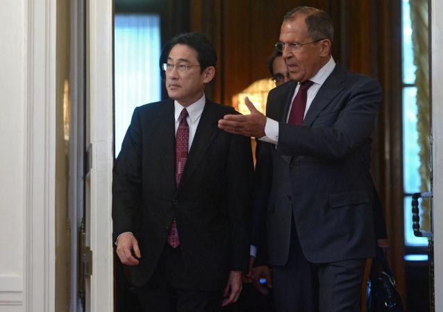 日外相稱俄日應以可接受的形式解決島嶼問題並達成和約
