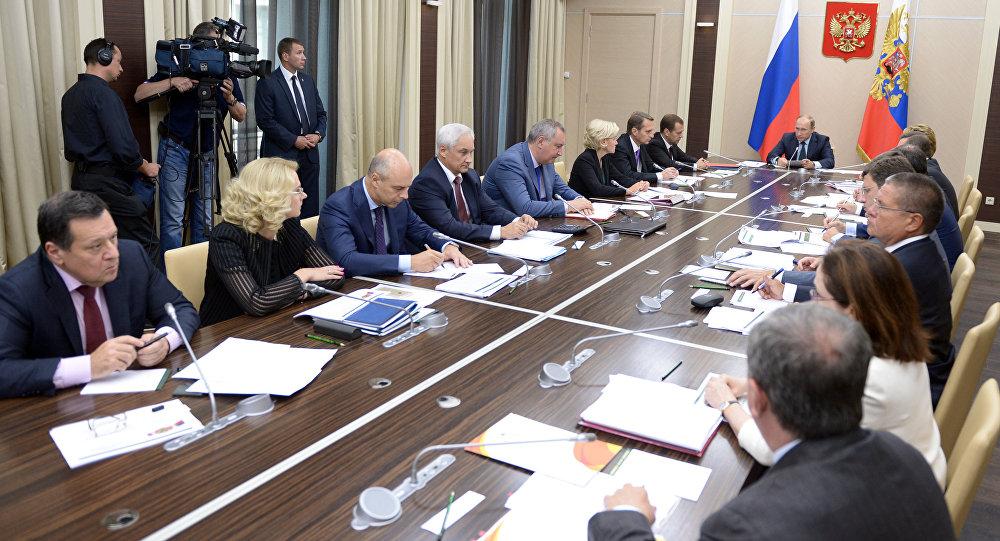 普京週一將主持召開五月總統令執行委員會會議