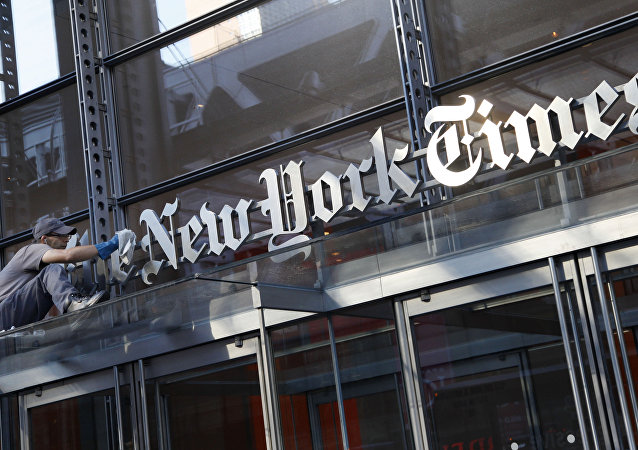 特朗普:總檢察長應負責查找在《紐約時報》匿名發表專欄文章的作者