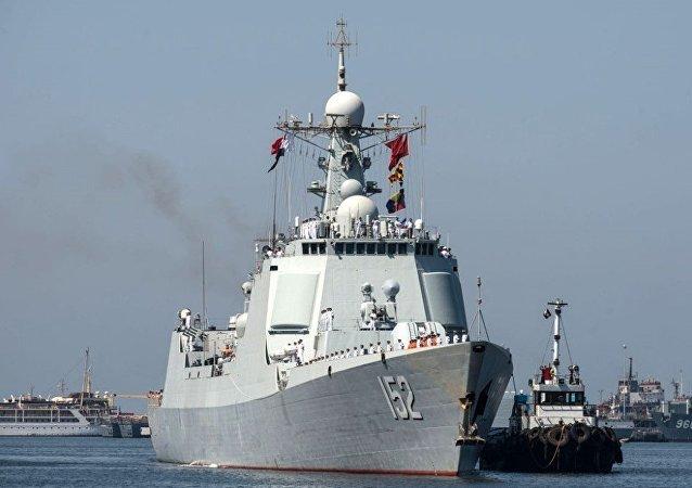 中國並向敘利亞海岸派出自己的軍艦的消息純屬謠傳