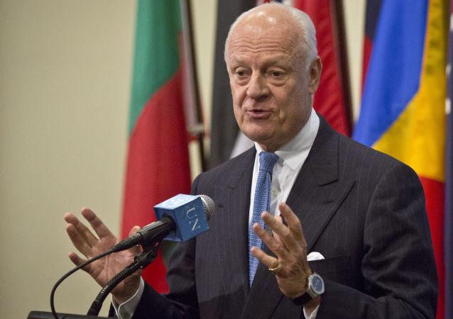 聯合國特使呼籲切斷「伊斯蘭國」資金來源並武力打擊該組織