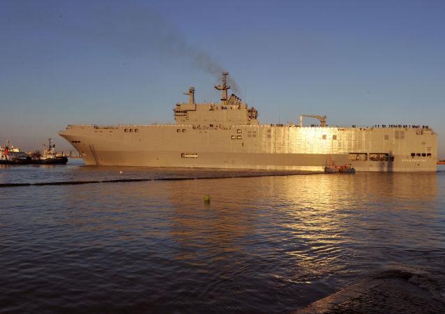 俄軍企願為「西北風」艦提供控制系統與雷達