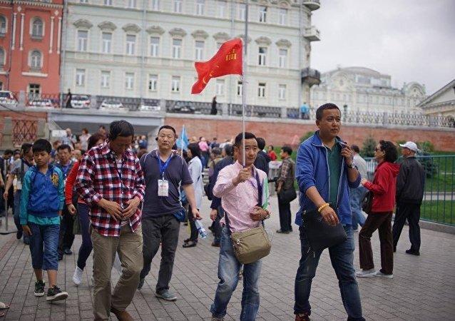 中國赴俄客流量增加51%,超過2013年同期