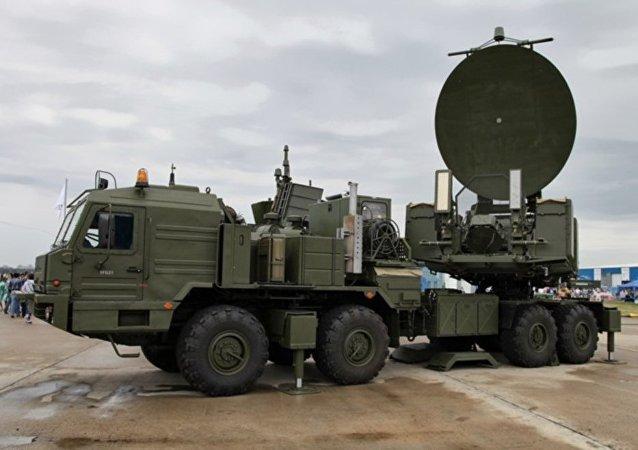 俄軍Krasukha-2大功率干擾系統
