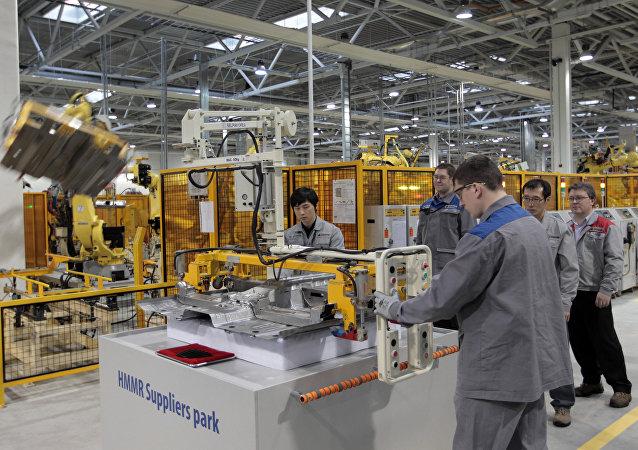 韓國工業園區在俄羅斯