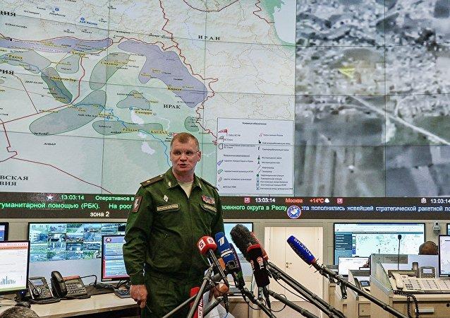 俄國防部:俄羅斯戰機摧毀大馬士革省一座為「伊斯蘭國」製造彈藥的工廠