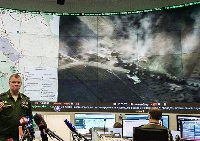 俄國防部:俄飛機一晝夜內在敘消滅「伊斯蘭國」29個野外營地