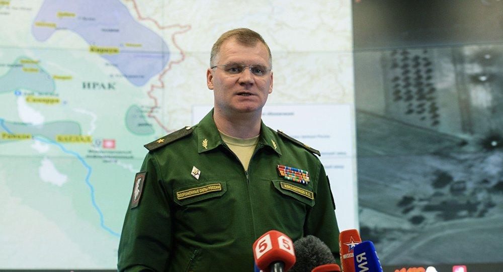 俄羅斯國防部發言人科納申科夫