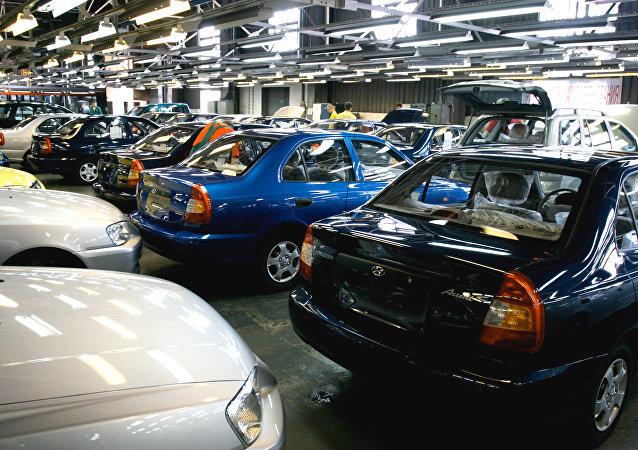 現代汽車在俄羅斯