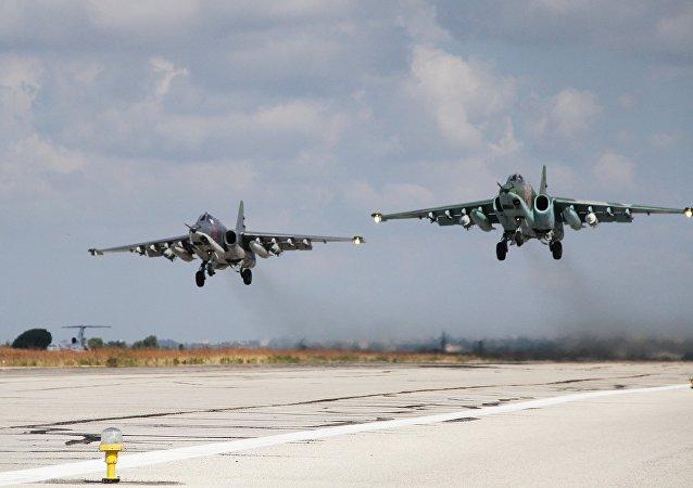 空軍集群司令部:俄軍在敘利亞空襲行動中無損失