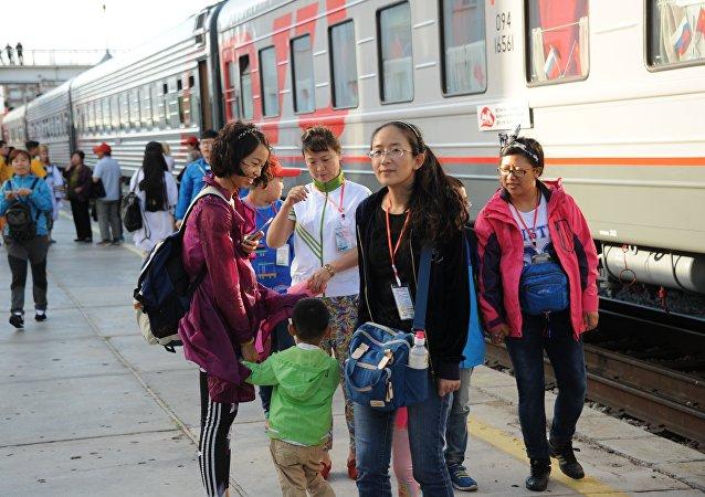 中國遊客很快將有機會享受到俄羅斯列車特色之旅