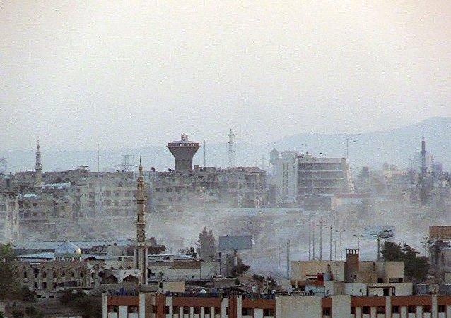 古巴否認其軍人進入敘利亞報的消息