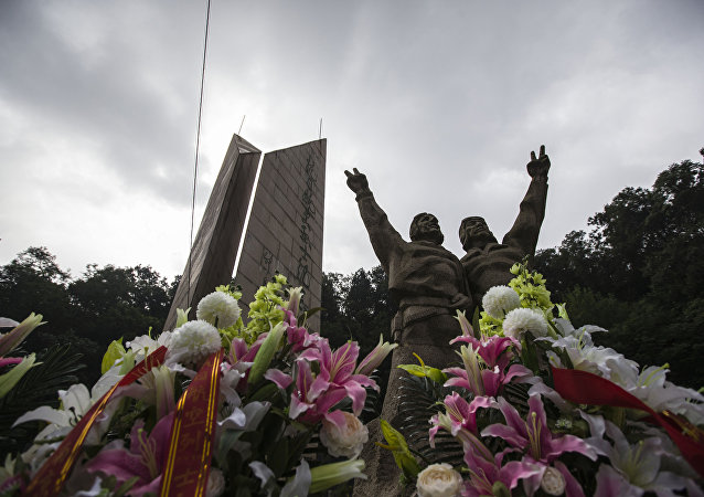 俄羅斯授予南京抗日航空烈士紀念館偉大衛國戰爭勝利70週年紀念獎章