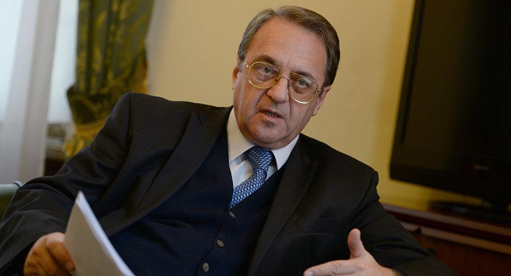 俄羅斯外交部副部長波格丹諾夫