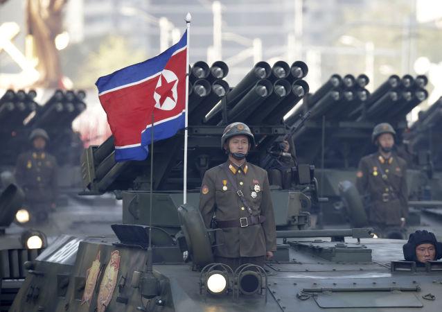 朝鮮軍隊/資料圖片/
