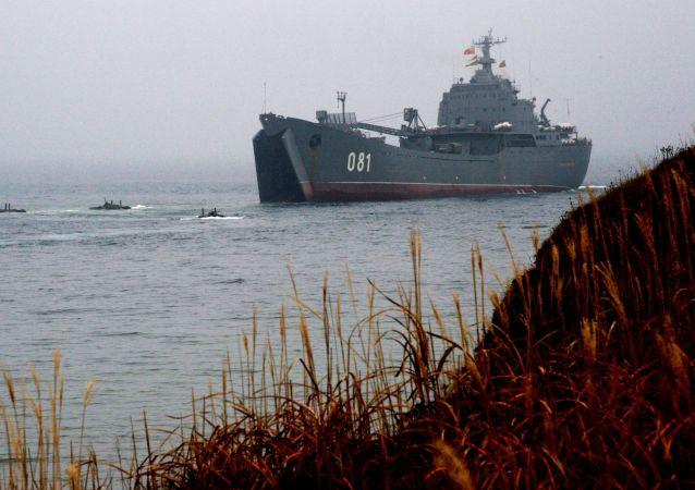 俄太平洋艦隊艦艇 資料圖