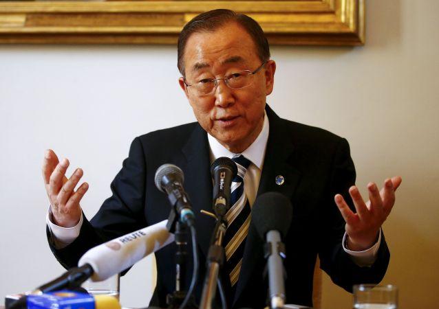 潘基文呼籲敘利亞國際支持小組確定日內瓦和談反對派名單