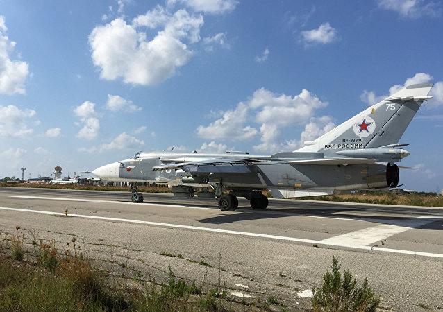 俄空天部隊在敘利亞