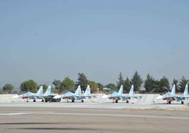 蘇-30SM戰機,赫梅米姆空軍基地