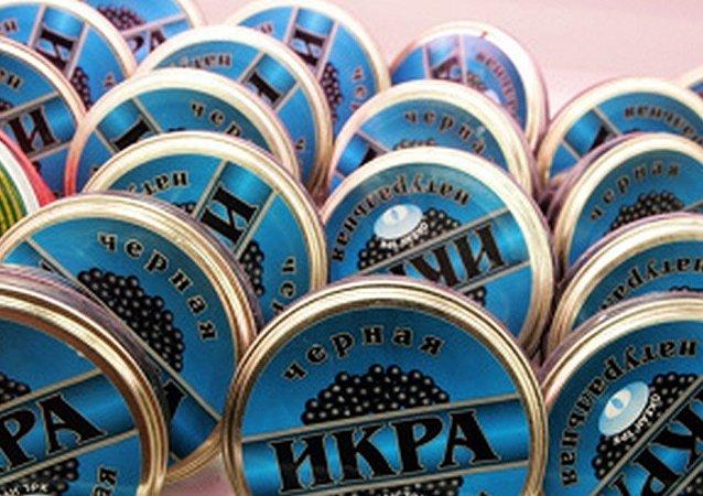 俄羅斯將為黑魚子醬產品貼標籤
