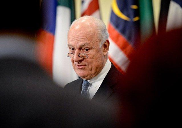 聯合國敘利亞問題特使:聯合國準備在日內瓦召開敘各方會談