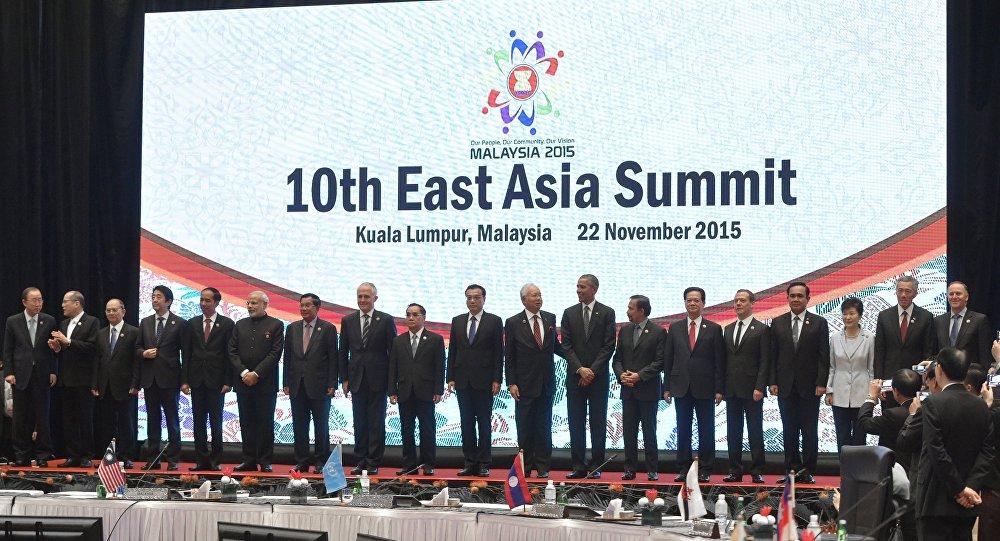 在吉隆坡的第10屆東亞峰會上