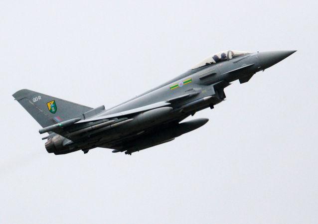 英國空軍的颱風殲擊機
